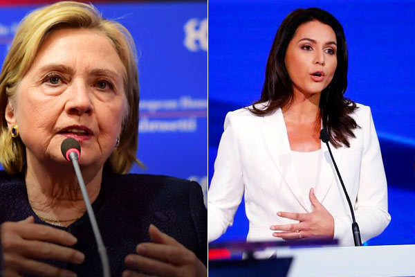 Tulsi Gabbard sues Hillary Clinton for defamation, seeking $50 Million for damages
