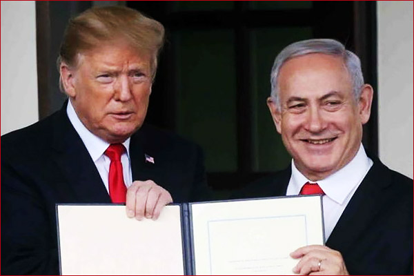Trump invited Netanyahu to discuss peace between Israel and Palestine
