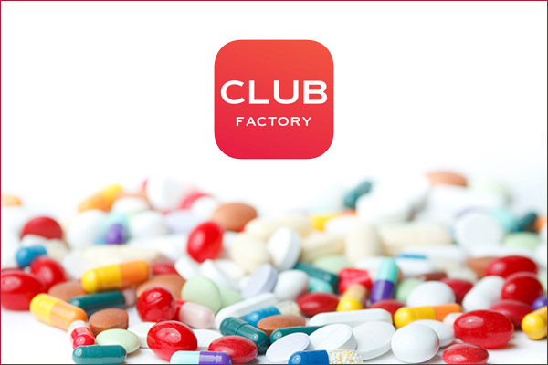 Club factory allegedly sells drugs without prescription