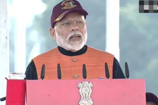 Modi said Freed Kashmir from 70 years of misrule of 3 to 4 families