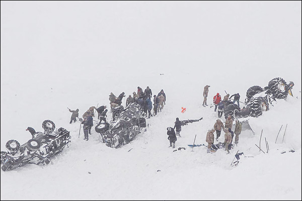 2 avalanches kill 38 in eastern Turkey Van province