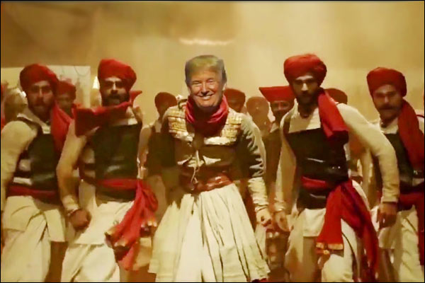 Trump Junior shares meme video of Donald Trump dancing to song Malhari&rsquo after acquittal