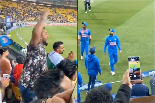 India loses from New Zealandchants Anushka Bhabi Zindabad slogan