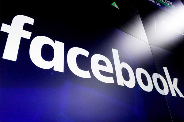 Facebook social media accounts temporarily hacked