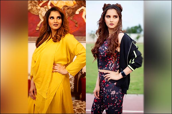 Sania Mirza shared photos of her journey from 89 to 63 kg with fans