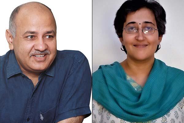 AAP key leaders like Deputy CM Manish Sisodia and Atishi Marlena are still in a nail biting race