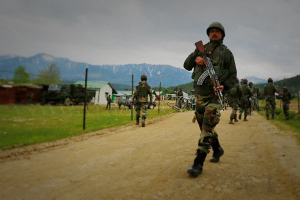 Security forces gun down three militants in  Jammu and Kashmir