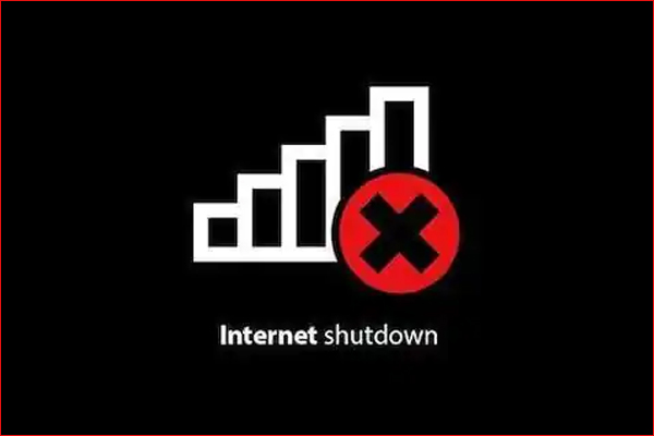 Indian economy in crisis due to internet shutdown  19,435 crore loss in 5 years
