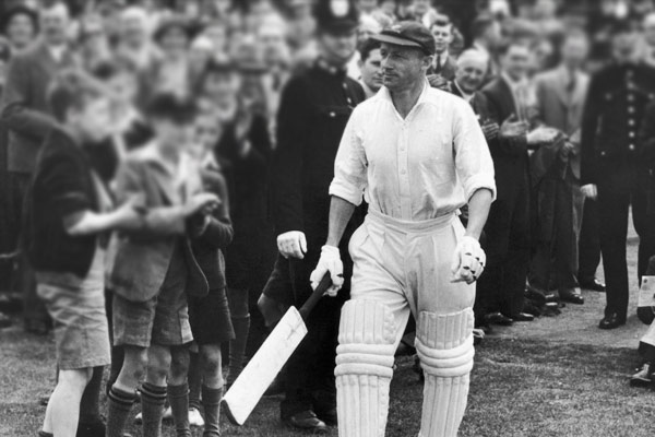 Colour footage of Sir Don Bradman batting found after 71 years