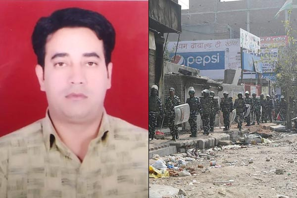 Complaint Filed Against WSJ On Alleged Misreporting Of IB Officer  Murder In Delhi Riots