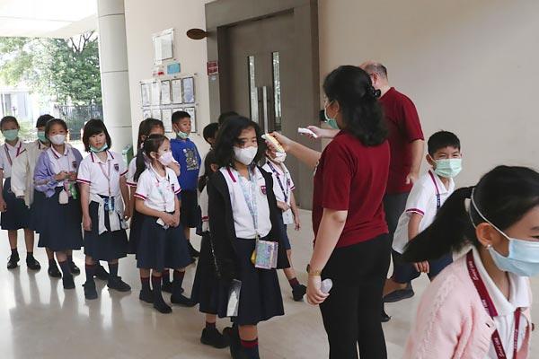 None of the five children showed coronavirus symptom  CMO visits Noida school