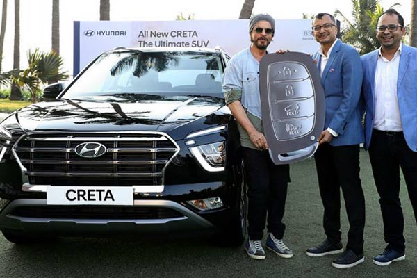 Hyundai Creta 2020 starts delivery and  Shahrukh Khan becomes first owner
