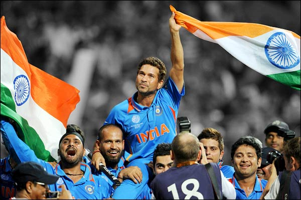 On this day  India won its second cricket World Cup in the year 2011