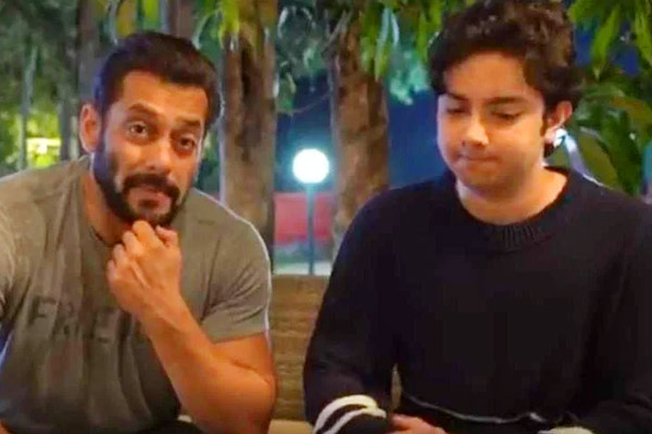 Salman Khan is away from family for several weeks and is seen with Sohail son