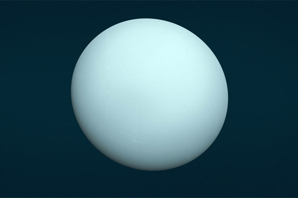 The tilted orbit of Uranus may be due to collision with the icy dwarf planet
