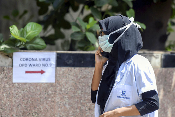 Two persons discharged from Noida hospital readmitted after the third round of result comes positive