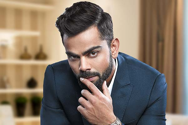 Virat Kohli begins Trim at Home challenge