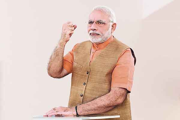 PM Modi asked ministers to follow social distancing