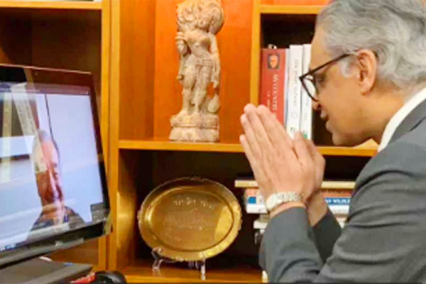 India UN Ambassador Syed Akbaruddin signs off on last day of office with a namaste
