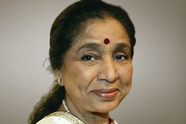 Asha Bhosle made her YouTube debut beginning with this song