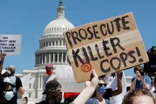 US cities order curfews amid protests against George Floyds death