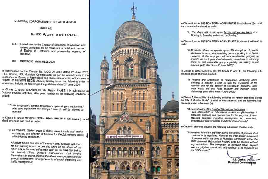 BMC releases new guidelines in Mumbai amendments in rules