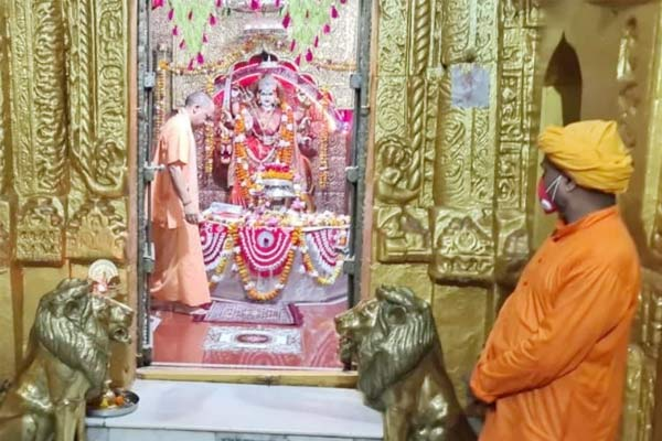 Chief Minister Yogi reached Ayodhya to take stock of the preparations of Ram temple