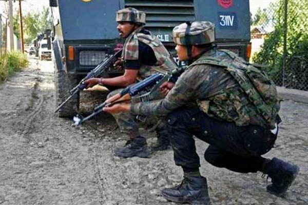 A militant killed in Srinagar Malabag a CRPF jawan martyred one injured