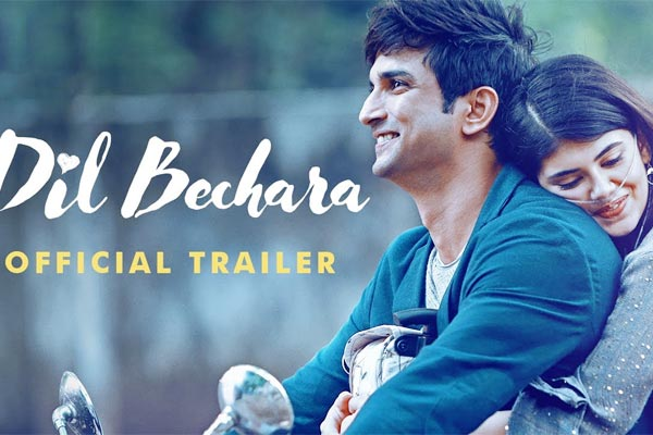 Trailer of Dil Bechara Sushant final film is out
