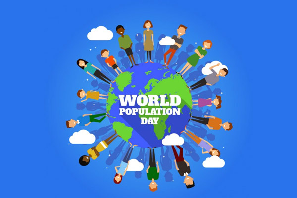 Today is World Population Day today only in 1987 the global population reached 5 billion for the fir