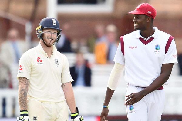 Jermaine Blackwood Shannon Gabriel help West Indies beat England by 4 wickets in 1st Test