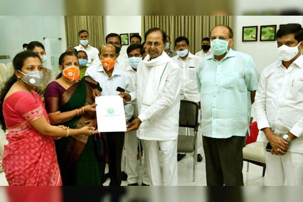 Martyr Colonel Santosh Babu wife appointed Deputy Collector in Telangana