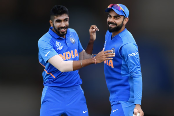 ICC ODI Rankings Virat Kohli Rohit Sharma continue to reign supreme Jasprit Bumrah maintains second