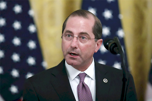 US Health Minister arrives in Taiwan China calls it a betrayal