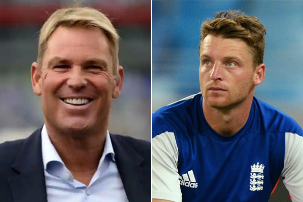 Australian veteran Shane Warne told English batsman Jose Butler the entire player