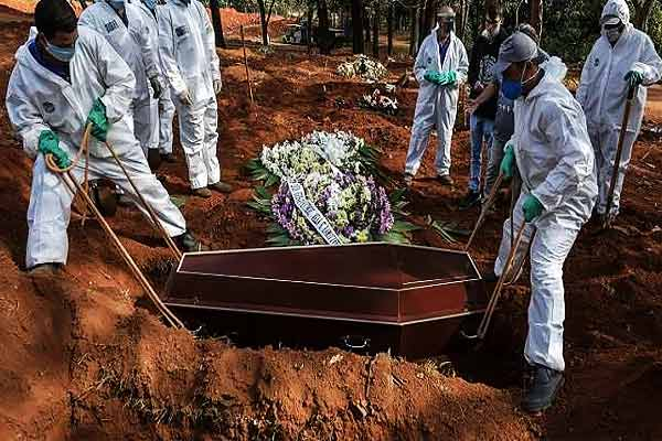 Number of infected in Brazil crosses 30.57 lakh, death toll crosses 1.01