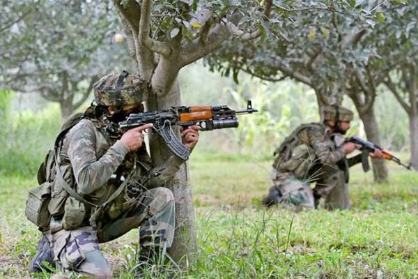 Terrorist attack in Srinagar two soldiers martyred operation started in search of terrorists