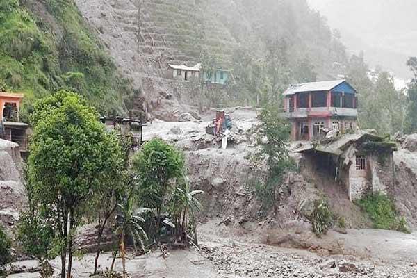 37 people missing after landslide in Sindhupalchok Nepal