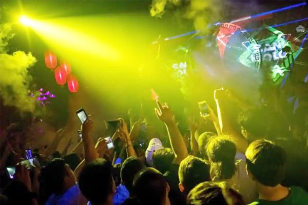 Rave party busted in Goa 23 including three foreigners held