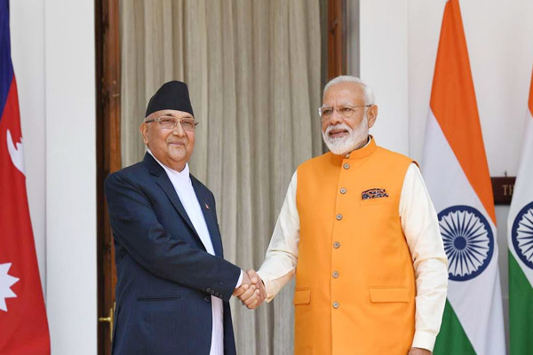 Oli call melts frozen ice on relations India Nepal to hold talks on August 17