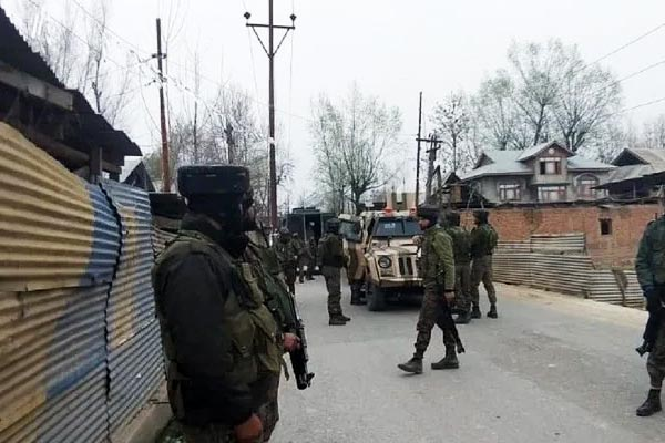 Encounter between security forces and terrorists in Shopian one terrorist killed