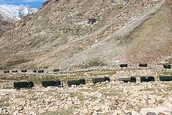 Shots fired at Pangong Tso