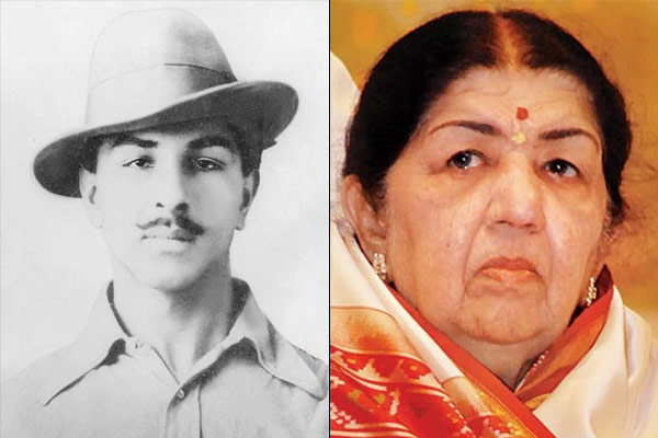 Bhagat Singh and Lata Mangeshkar birthday